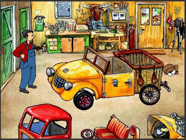 Freddy Fixer Builds a Car (1997)