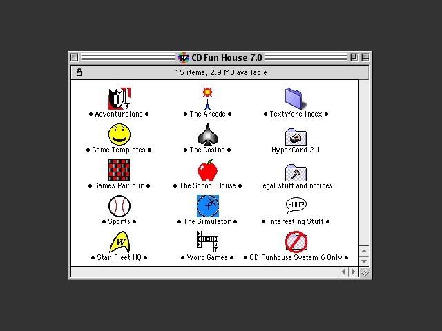 CD Fun House 7 (1992)