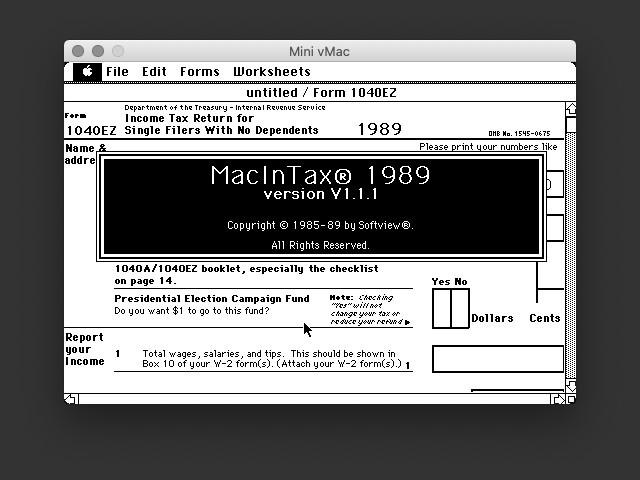 MacInTax 1989 (0)