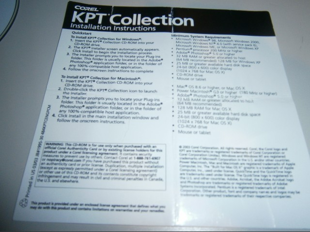 KPT Collection (2003)