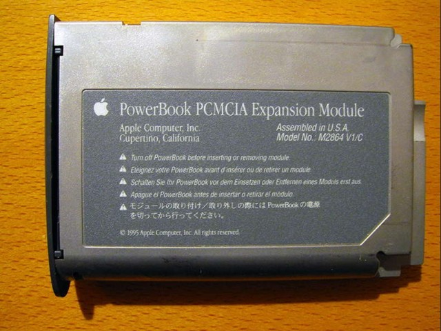PC Card Software 2.0 for PowerBook 500 series (1996)