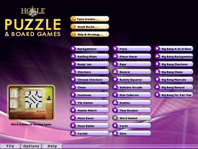 Hoyle Puzzle and Board Games 2009 (2008)
