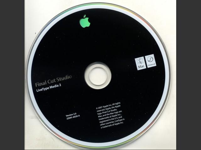 Final Cut Studio v2 0, DVD Studio Pro & Training - Macintosh