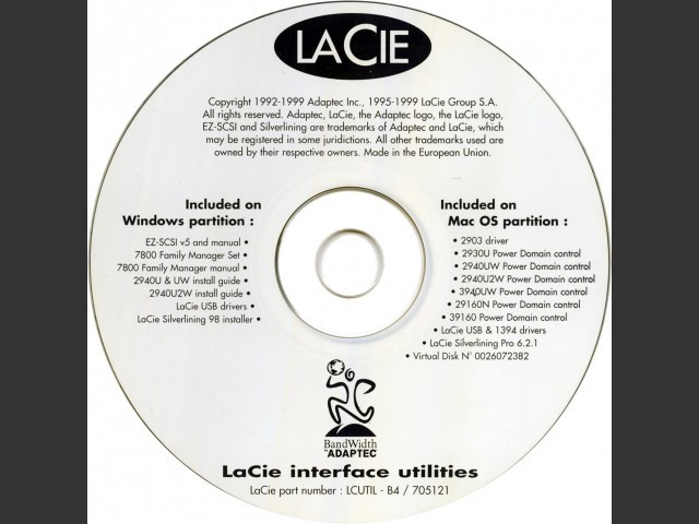 LaCie Interface Utilities (2000) (2000)
