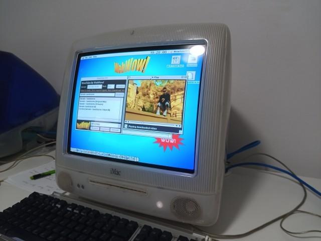WowTube on iMac G3