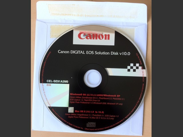 Canon DIGITAL EOS Solution Disk (2005)