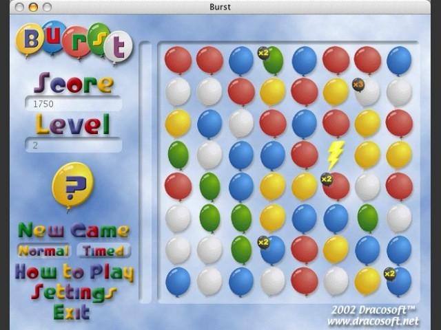 Burst 1.0.1 (2002)