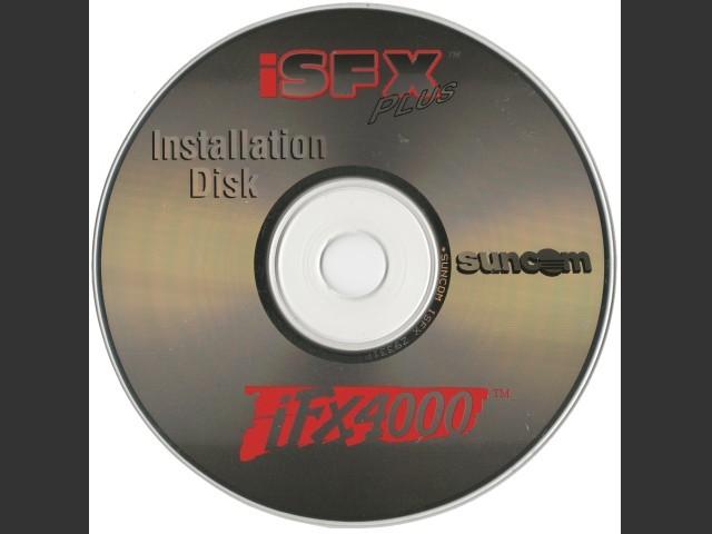 Suncom USB ISp CD (Joystick iFX 4000 USB Driver, iSFX Plus) (1999)