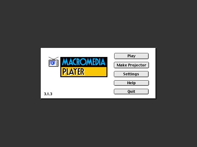 MacroMind Player 3.1.3 & MacroMind Director 3.1.1 (1993)