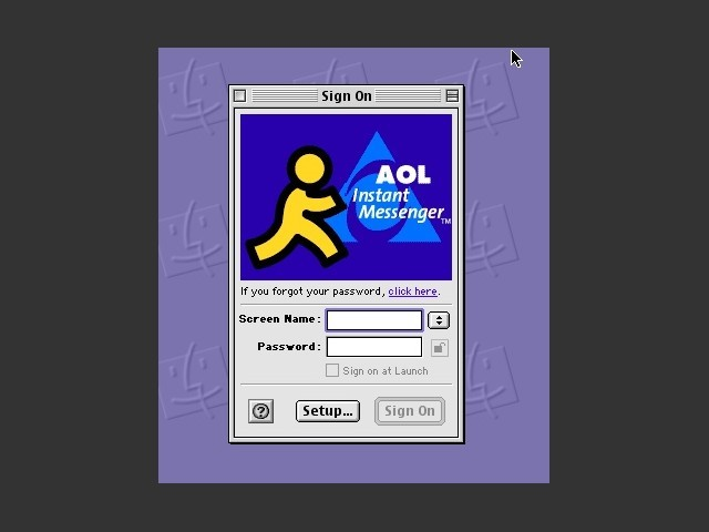 AIM Phoenix for Mac OS 9 (2001)