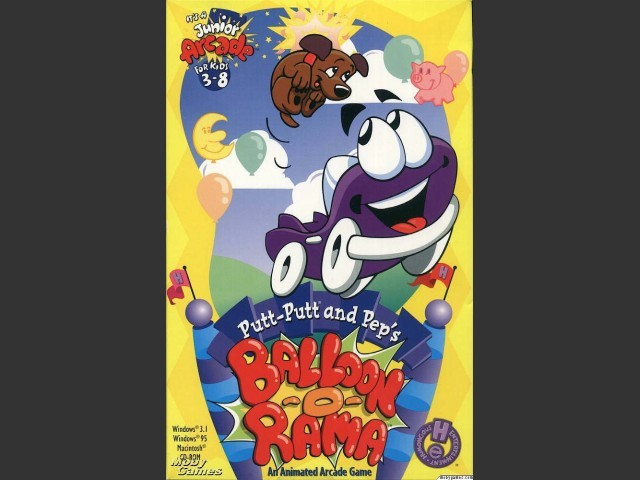 Putt-Putt and Pep's Balloon-o-Rama (1996)