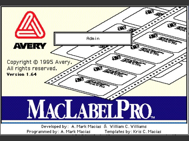 MacLabelPro (1995)