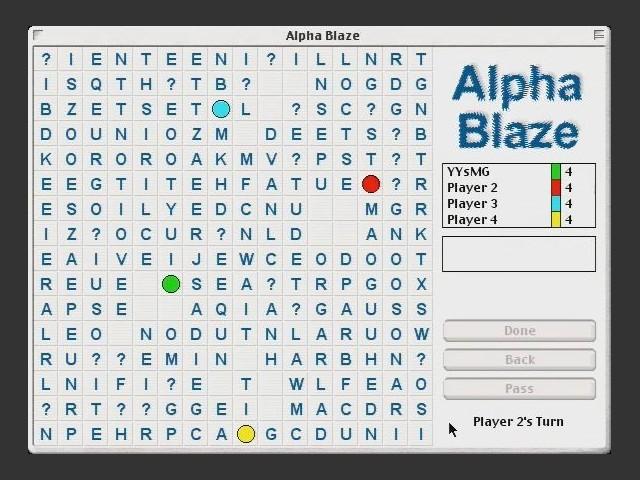Alpha Blaze (2001)