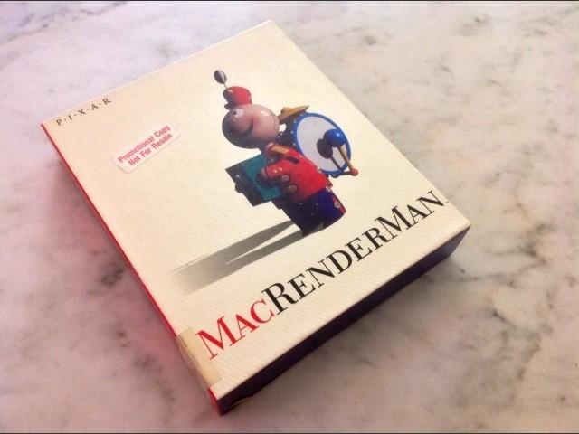 MacRenderMan - Box - Front
