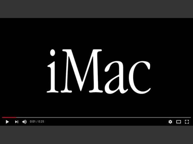 iMac 1998 Intro Video (1998)