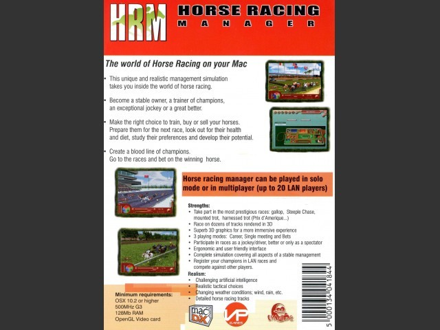 HRM: Horse Racing Manager (2005)