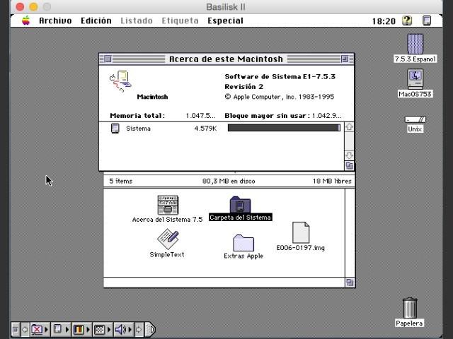 Spanish Version Screenshot
