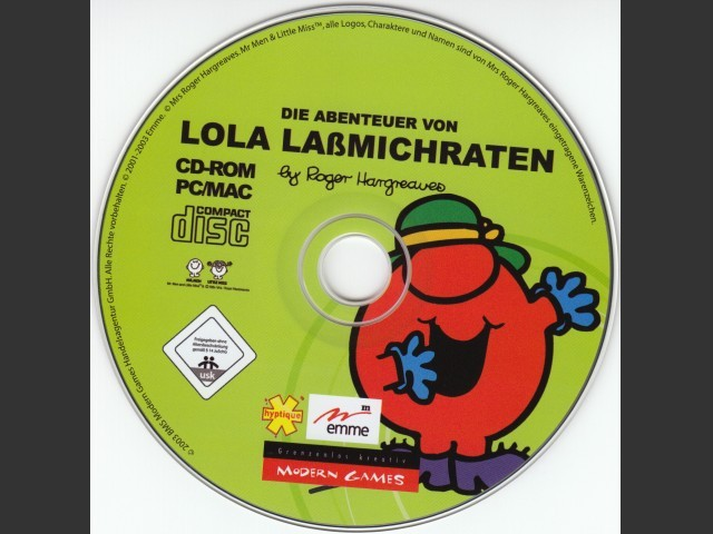 Lola Lassmichraten (German) (2003)