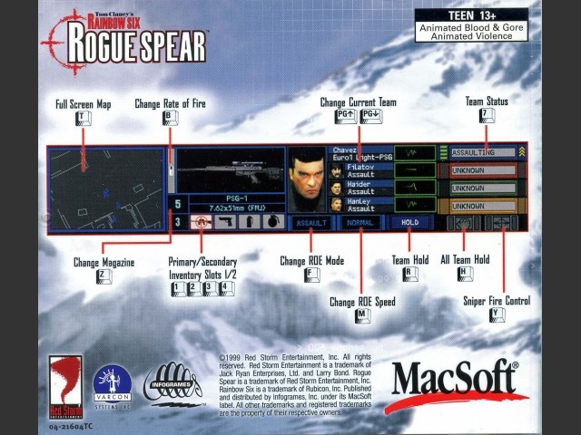 Tom Clancy's Rainbow Six: Rogue Spear (2001)