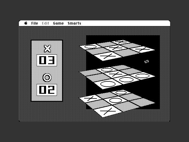 3D Tic Tac Toe (1987)
