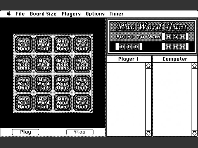 Mac Word Hunt (1987)