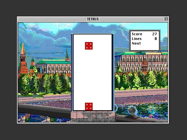 Tetris - patched for PowerPC (2011)
