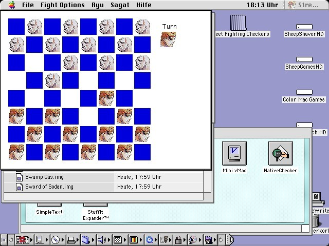 Street Fighting Checkers (1996)