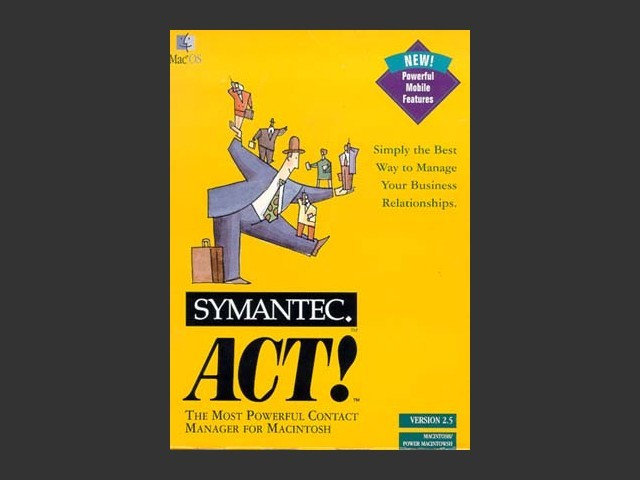 ACT! 2.5 Box Cover