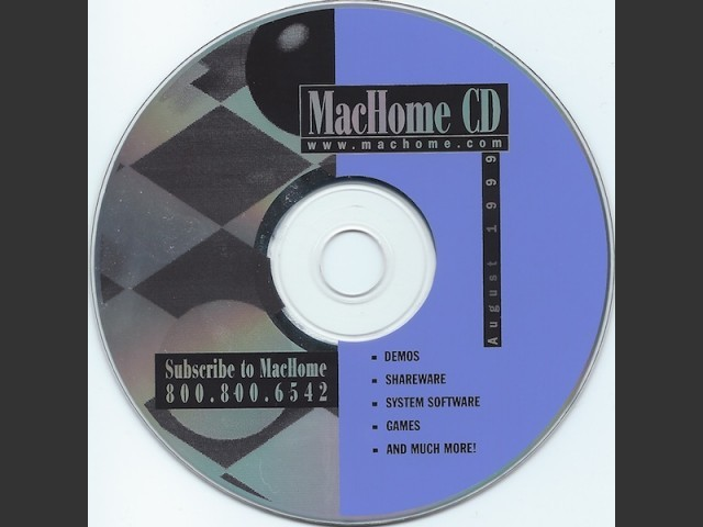 MacHome CDs (1999)