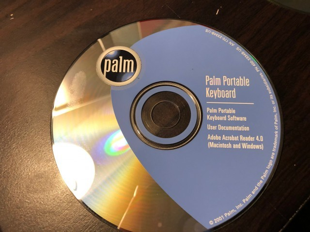 Palm Portable Keyboard (2001)