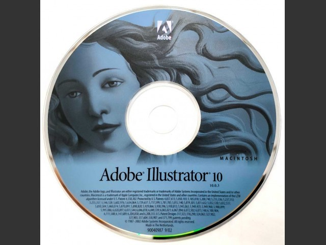 Adobe Illustrator 10.0.3 (2001)