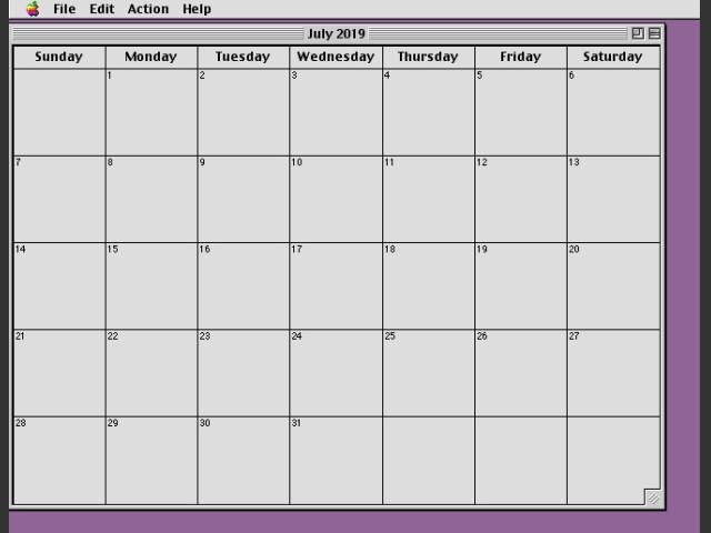 Calendar (Mom's) (2004)