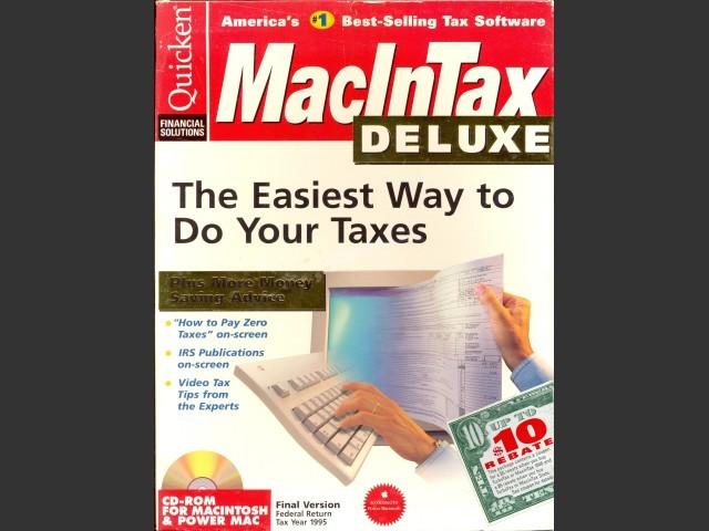 MacInTax 1995 (1996)