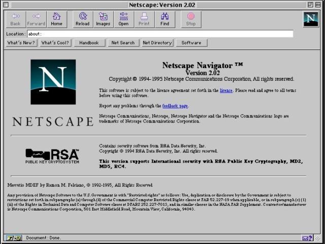netscape for mac