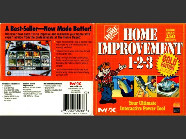 Home Improvement 1-2-3 (2002)