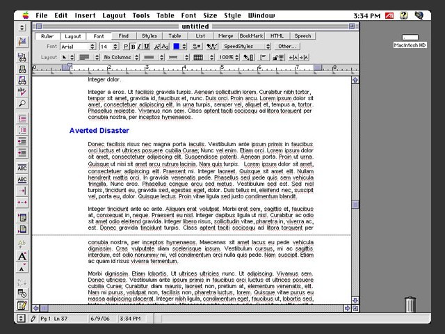 WordPerfect 3.5e (1998)