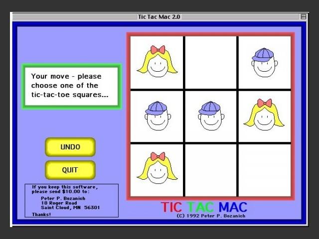 Tic Tac Mac (1992)