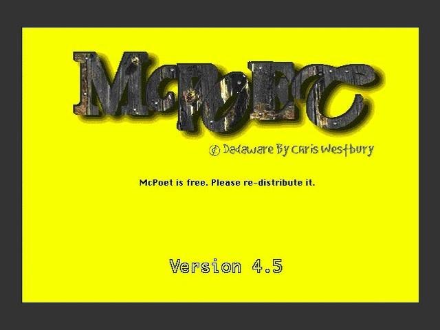 McPoet (1998)