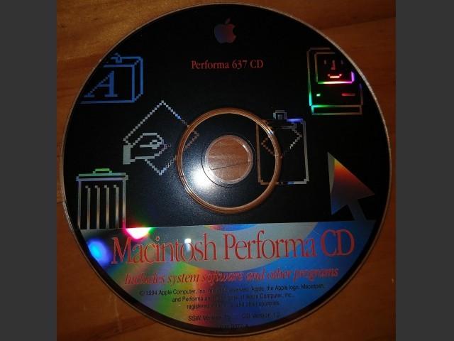 Mac OS 7.5 (Performa 637CD) (1994)