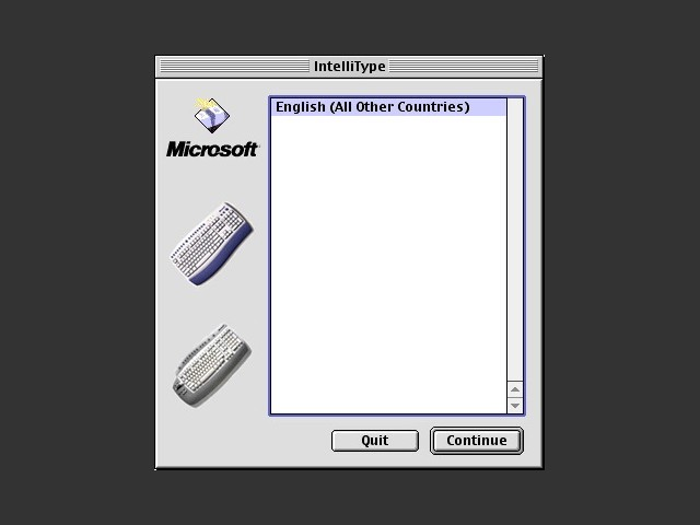 Microsoft IntelliType  v2.32 USB Keyboard Driver (2003)
