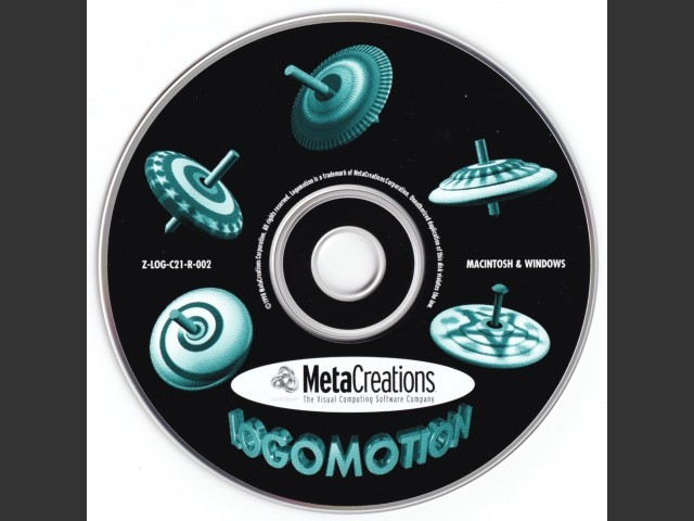 MetaCreations LogoMotion 2.1 (1998)