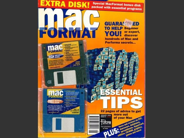 MacFormat 08 (January 1994) Magazine & Disk (1994)