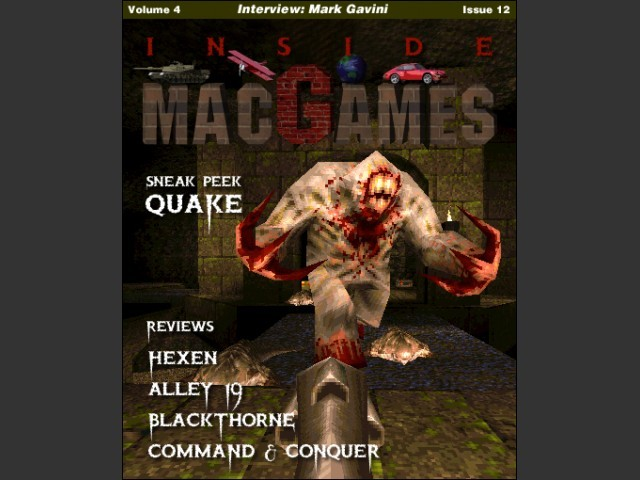 Inside Mac Games Vol 4x12 cover