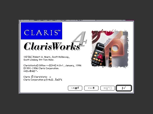 ClarisWorks Office 4.0 (Simplified Chinese) (1996)