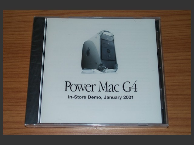 Power Mac G4 In-store Demo (2001)