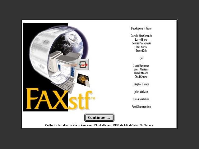 FAXstf 5.0 (FR) (1998)