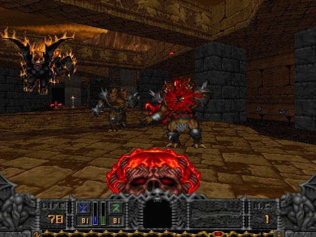 Hexen: Deathkings of the Dark Citadel (1996)