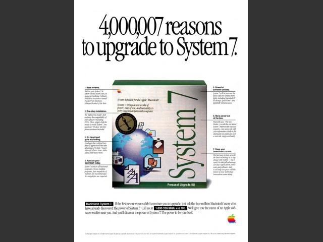 System 7 Advertisment