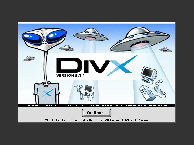 DivX 5 (DivX Codec for Mac OS) (2003)