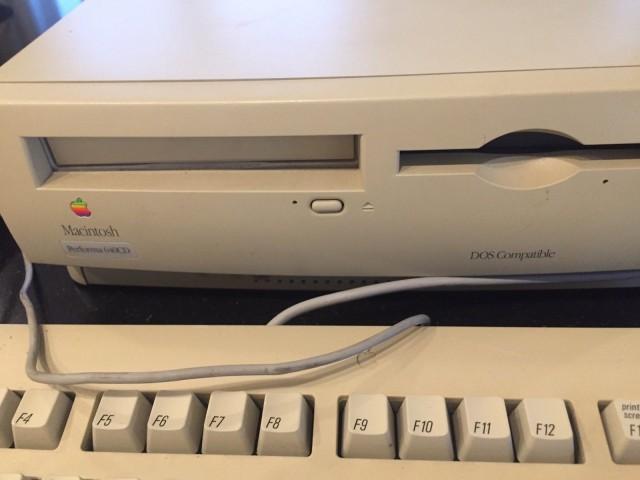 Mac OS 7.5.1 (Performa 640CD DOS Compatible) (1995)